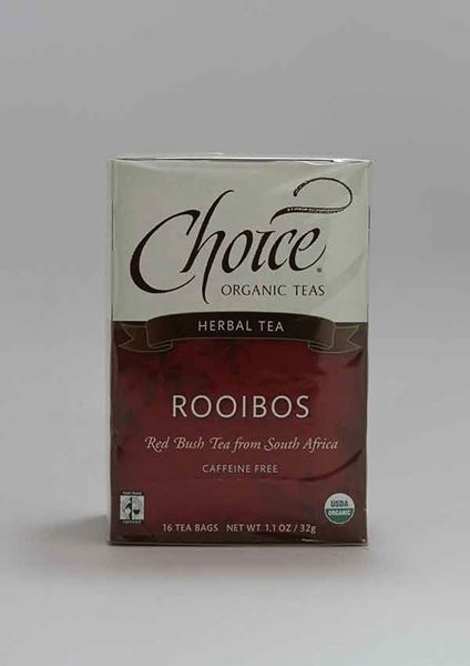 Choice Organic Tea, Choice, Choice Organic Tea, Rooibos, Tea, Caffeine Free