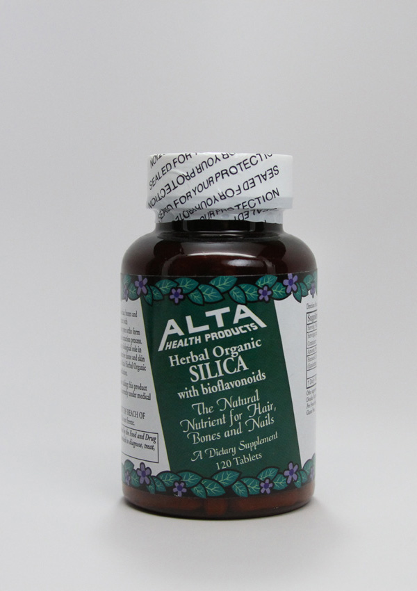 Alta Health Products ,ALTA Health Products,Silica,Herbal Extract,essential trace mineral,bone, cartilage, connective tissue and skin,component of collagen. 