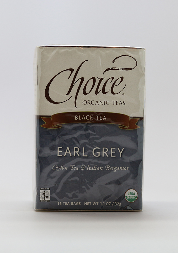 Choice Organic Teas ,Choice, Choice Organic Tea, Earl Grey Tea, Organic, caffinated tea, tea