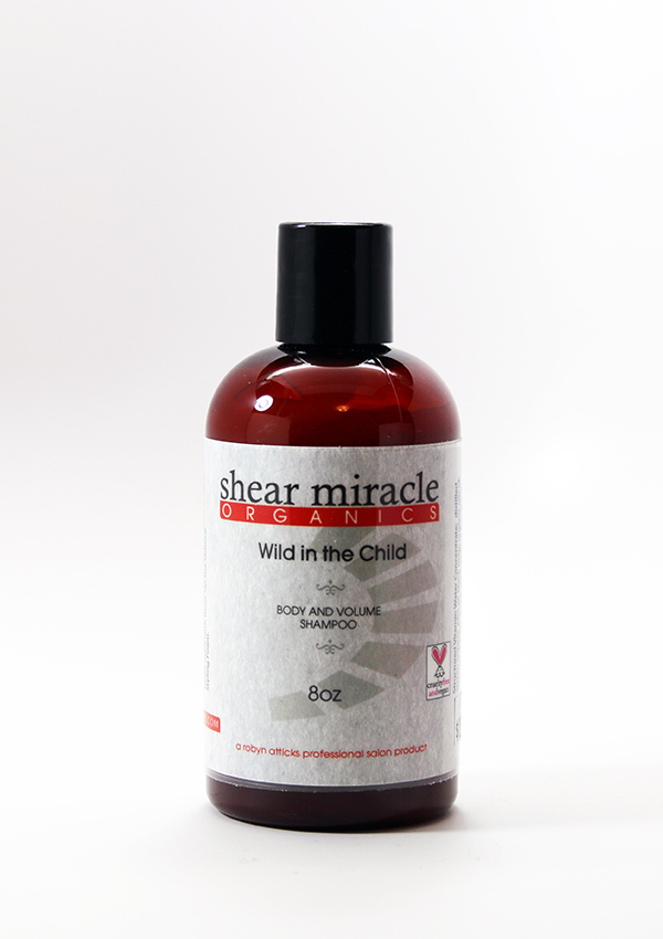 Wild in the Child Shampoo ,Wild in the Child Shampoo, Shear Miracle Organics, volumizing shampoo