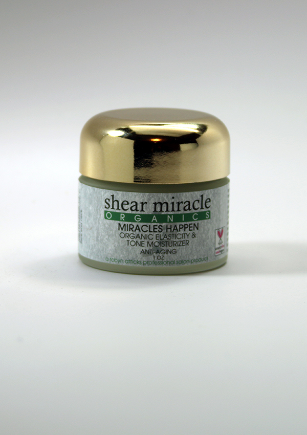 Miracles Happen Moisturizer ANTI-AGING/DRY SKIN ,Moisturizer, ANTI-AGING, DRY SKIN, organic moisturizer, skin toning, elasticity, hydrating skin