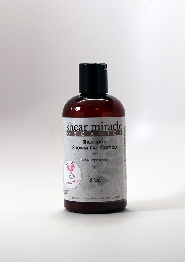 Pure and Simple Shampoo / Shower Gel Combo ,Men's skincare, Men's haircare, organic haircare, organic skincare,Men's shampoo, shower gel, men's shower gel