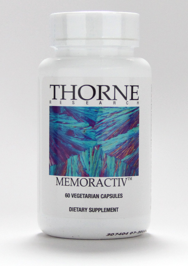 Thorne Research ,improve memory, brain, promote brain function, enhances memory, learning and focus, focus, brain health