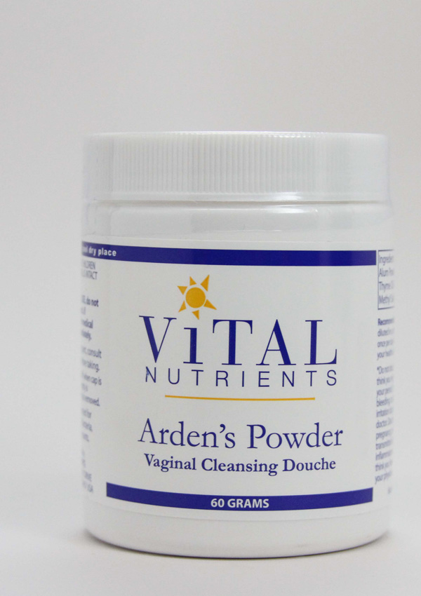 Arden's Powder ,vaginal flora, vaginal PH, douching, douche, vaginal douche