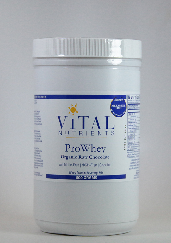 Vital Nutrients ,Whey protein beverage mix, protein powder, immune system, antioxidant,Vital Nutrients, Prowhey ORGANIC RAW chocolate