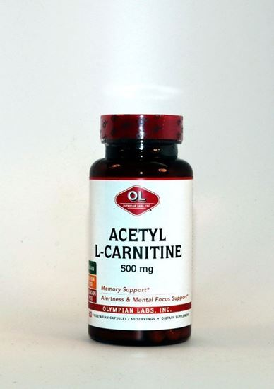 Acetyl L-Carnitine ,L-Carnitine, Acetyl L-Carnitine, Olympian Labs, Helps Maintain Energy Levels, Endurance and Stamina Support, Stimulant-Free Fat Burner