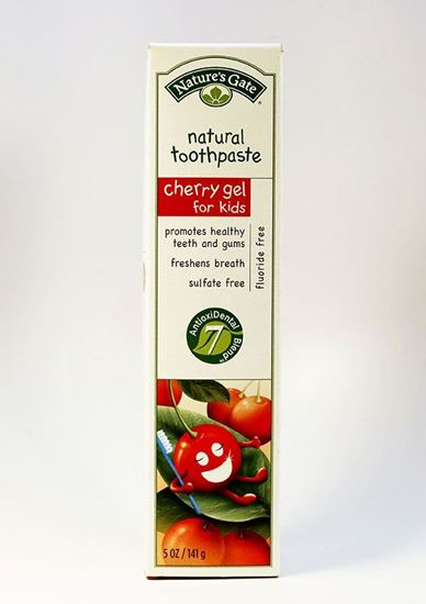 Natures Gate ,Natures Gate, Toothpaste, Kids, cherry, fluoride free, dental, teeth, dental health, oral health Plaque