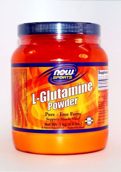NOW ,NOW, L-Glutamine, L-Glutamine Powder, Lglutamine, Immunity, immune system, healing, muscle, muscle growth