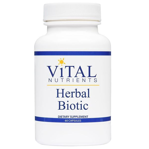 Vital Nutrients ,Vital Nutrients, Herbal Biotic, immunity, immune function, antioxidant, antioxidant support, antibody, antibody production, upper respiratory support