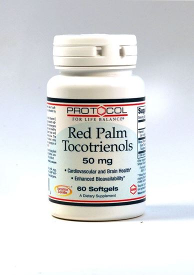 Red Palm Tocotrienols 50 mg,Protocol for Life Balance, Tocotrienols, promotes normal arterial function, healthy cholesterol metabolism, healthy brain health, liver health, cardiovascular health