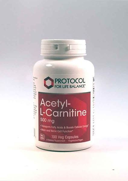 Acetyl L-Carnitine ,Protocol for Life Balance, Helps Maintain Energy Levels, Endurance and Stamina Support, Stimulant-Free Fat Burner