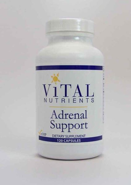 Adrenal Support, Supports adrenal gland function, helps maintain a healthy immune system, relieves mild stress and frustration