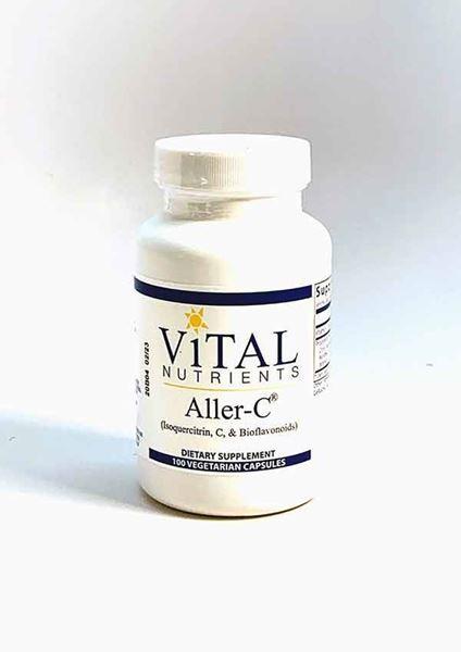 Aller-C 100 Caps, Sinus, Alternative Medicine, contains quercetin, helps respiratory health, sinus health, seasonal allergies, Promotes inflammatory balance, normal histamine response