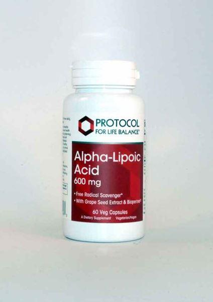 Protocol for life, Alpha Lipoic Acid, 600mg, Lipoic Acid, Biotin, Taurine, insulin, insulin function, healthy insulin function