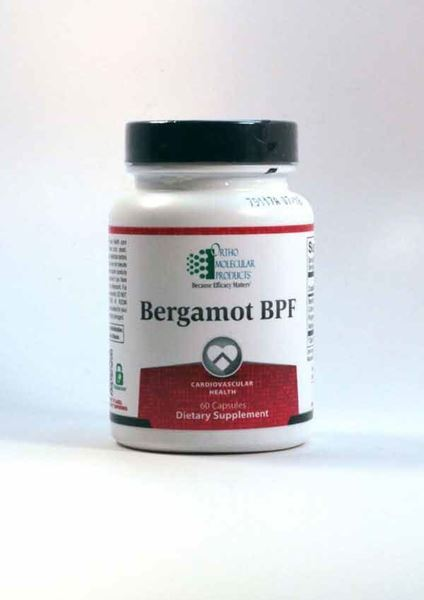 Bergamot BPF, Ortho Molecular Products, Cardiovascular, Lower Cholesterol Levels Naturally ,Circulatory health