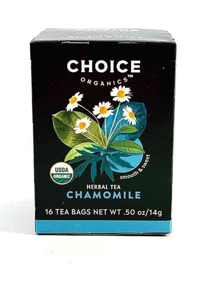 Chamomile Tea, Buy Choice Organic Tea, caffeine free, unbleached, herbal tea, calming tea