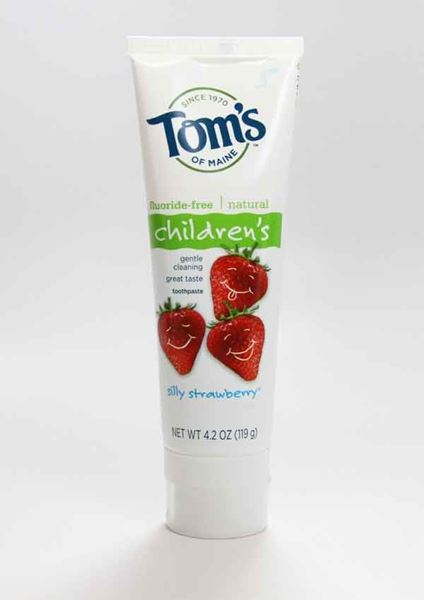 Children's Fluoride-Free Toothpaste Strawberry ,Tom's of Maine. fluoride-free, toothpaste, children's toothpaste