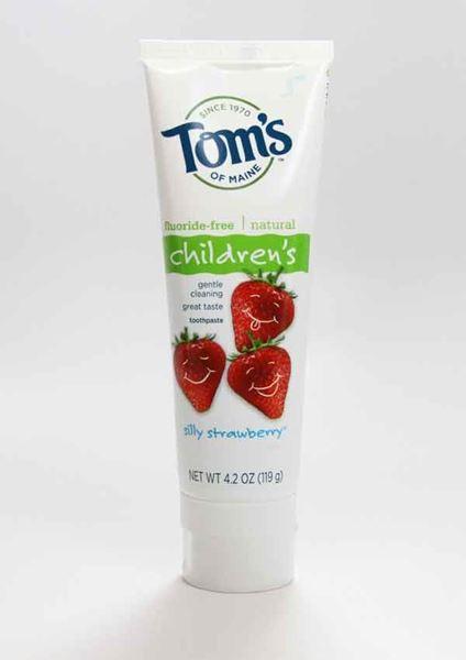 Children's Fluoride-Free Toothpaste Strawberry ,Tom's of Maine. fluoride-free, toothpaste, children's toothpaste
