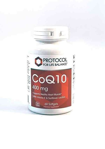 CoQ10 400mg could help to  boost energy levels supports healthy heart muscle, CoEnzyme Q10, CoQ10, Protocol for Life