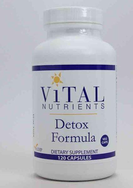 Detox Formula 120 caps ,liver detox, liver, detoxification, antioxidants, immunity, healthy liver