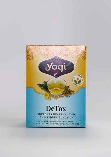 Yogi, Detox Tea, For Healthy Liver And Kidney