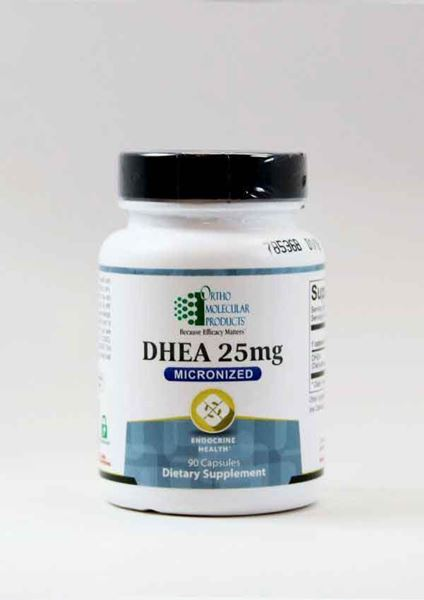 Ortho Molecular Products ,DHEA 25mg, Ortho Molecular Products, adrenals, hormones, fatigue