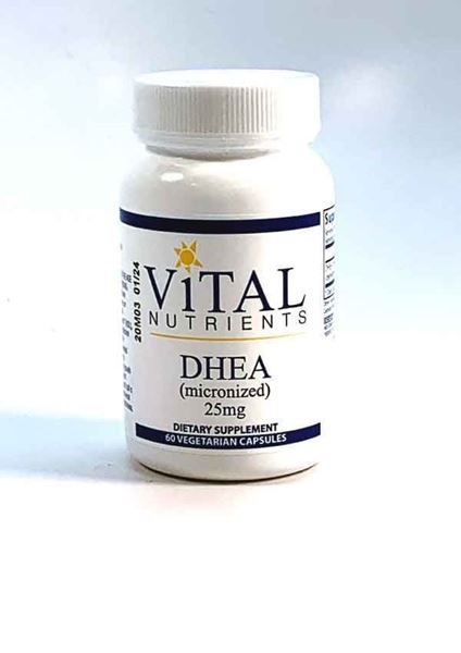 DHEA 25mg, Metabolism And Immune Health Supplements