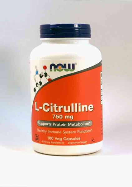 L-Citrulline, LCitrulline, NOW, a dietary supplement for healthy protein balance