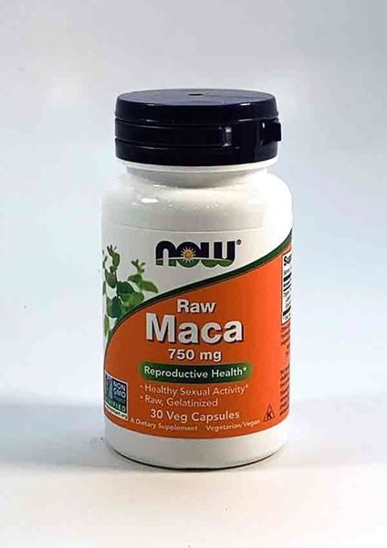 Maca, NOW, Maca Raw 750mg, Testosterone, supports testosterone, men's health