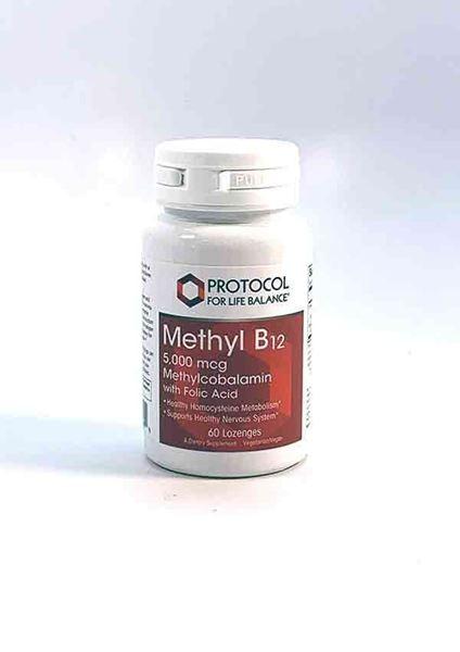 Vitamin Methyl B12, Brain support, Protocol for Life, Vitamin B
