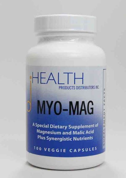 Health Products Distributors, Magnesium, MYO-MAG, mineral balance, magnesium supplement, fatigue, cardiovascular support, muscles, reduced spasms, cramps, migraine headaches