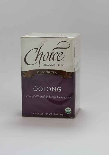 Choice Organic Teas, Choice, Choice Organic Tea, Oolong, Oolong Tea, Organic tea