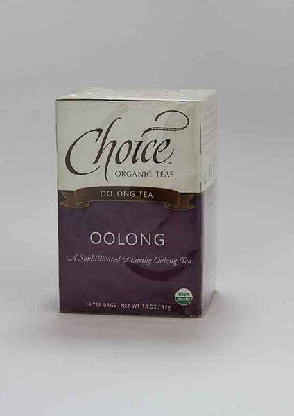 Choice Organic Teas, Choice, Choice Organic Tea, Oolong, Oolong Tea, Organic tea