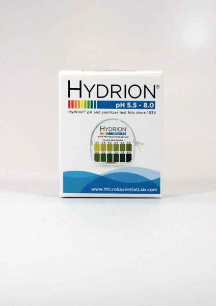 Hydrion pH Paper, pH Paper, pH acidity, pH alkali, test urine pH, test saliva pH, Micro Essentials, Hydrion pH paper