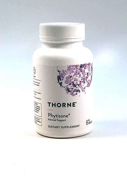 Thorne Research, Phytisone, adrenal health, stress, reduce stress, fatigue, reduce fatigue, adrenal function, stress management