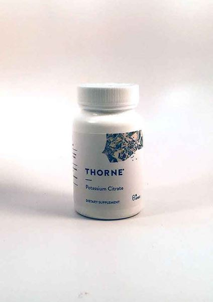 Thorne Research, Potassium Citrate, minerals, electrolyte balance, cell function, balance electrolytes