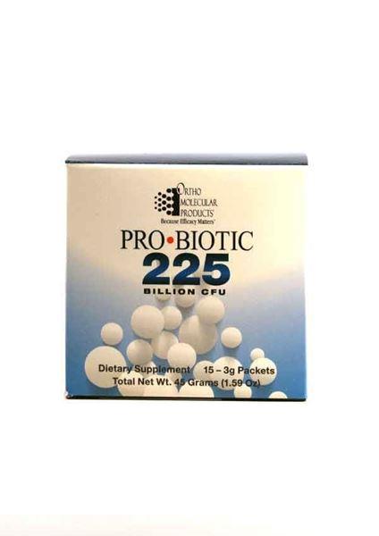 Ortho Molecular Products, PRObiotic 225, probiotic, GI health, gastrointestinal, immune function, immunity, microflora balance