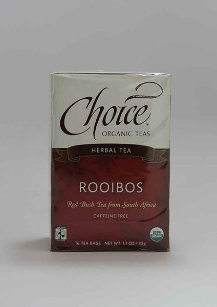 Choice Organic Tea, Choice, Choice Organic Tea, Rooibos, Tea, Caffeine Free