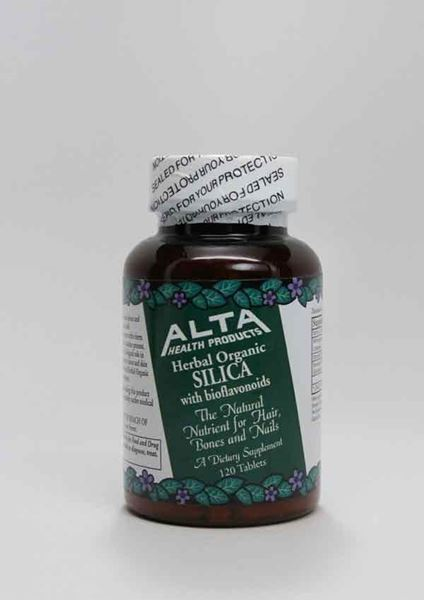 Alta Health Products ,Silica, trace mineral, bone, cartilage, connective tissue and skin, European Horsetail Extract, bioflavonoids, organic, soluble collodial