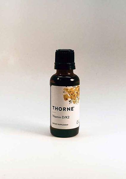 Thorne Research, Vitamin D K2, Cardiovascular support, circulatory health, vitamins, healthy bones, bone health, oncology, immunity