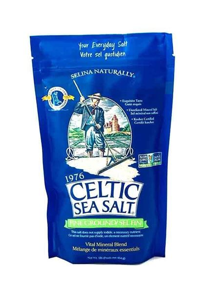 Celtic Sea Salt ,Salt, Sea Salt, Celtic Sea Salt, Selina Naturally, essential minerals
