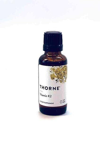 Thorne, Vitamin K2, liquid vitamins, MK-4, bones, bone health