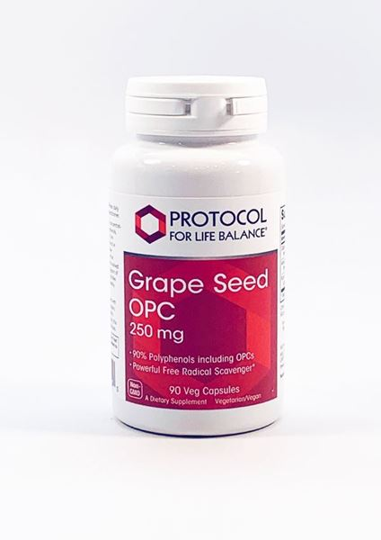 Grape Seed Antioxidant OPC 250mg, Supplement for Blood Vessel Health - Dr Adrian MD