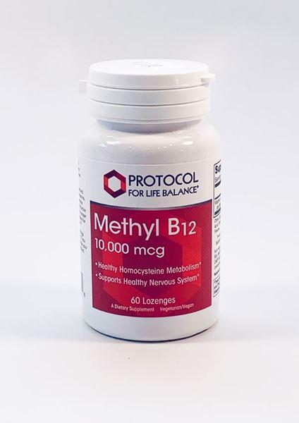 Vitamin Methyl B12 10,000 mcg Brain Health, Protocol for Life - DrAdrianMD